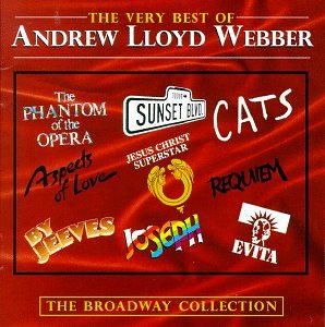 the Best songs of Andrew Lloyd Webber with lyrics